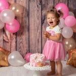 smash keik detska fotosesiya s torta